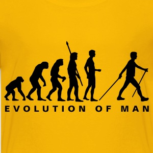 evolution_nordic_walking_b Shirts - Teenage Premium T-Shirt