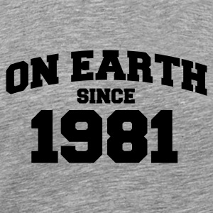 Cendre onearth1981 T-shirts - T-shirt Premium Homme