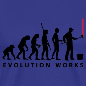 evolution_maler_a2_2c T-Shirts - Men's Premium T-Shirt
