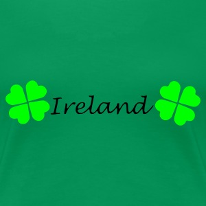 Kelly green Ireland Women's T-Shirts - Women's Premium T-Shirt