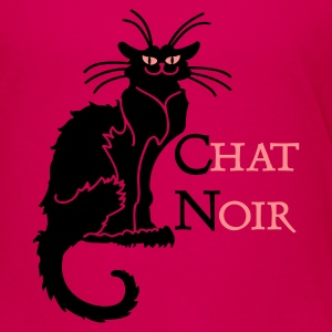 Pink chat noir 'n (text, 2c) Kinder T-Shirts - Teenager Premium T-Shirt