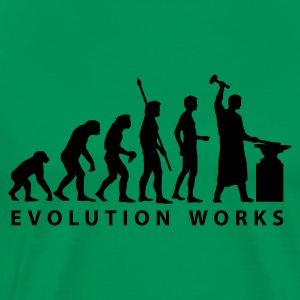 evolution_schmied T-shirts - Herre premium T-shirt