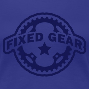 Türkis Fixed Gear Fixie Chainring T-Shirts - Frauen Premium T-Shirt