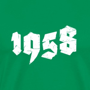 Kelly green Jahr 1958 Men's T-Shirts - Men's Premium T-Shirt