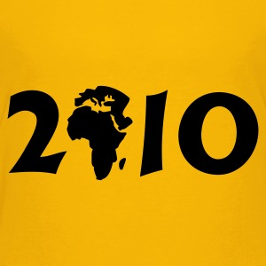 Yellow 2010 in Afrika  / 2010 in Africa (1c) Kids' Shirts - Teenage Premium T-Shirt