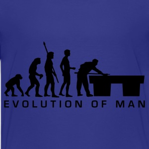 Cyan evolution_billard_b_us Kids' Shirts - Teenage Premium T-Shirt