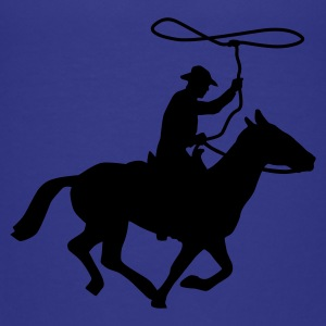 Cyan cowboy_a_1c Kids' Shirts - Teenage Premium T-Shirt
