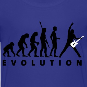 Cyan evolution_guitar_d_2c Kids' Shirts - Teenage Premium T-Shirt