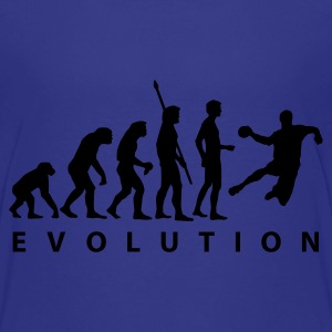 Cyan evolution_handball_a_1c Kids' Shirts - Teenage Premium T-Shirt
