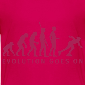 Pink evolution_inliner_b_1c Kids' Shirts - Teenage Premium T-Shirt
