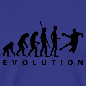 Sky evolution_handball_a_1c Men's T-Shirts - Men's Premium T-Shirt