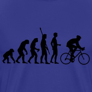 Diva blue evolution_radfahrer Men's T-Shirts - Men's Premium T-Shirt