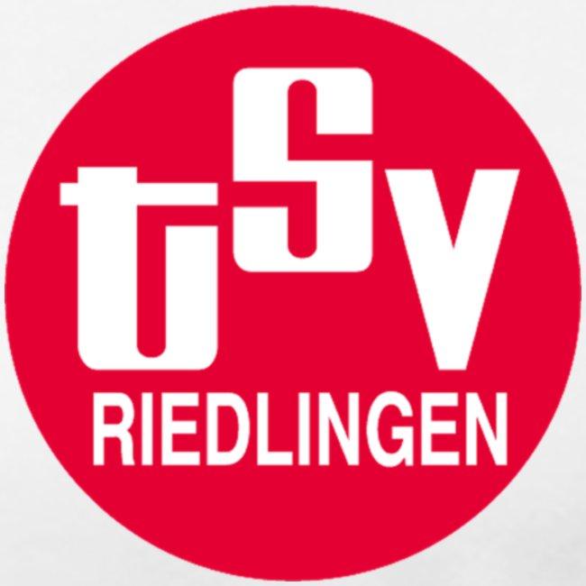 Frauen Girlieshirt klassisch Logo rot
