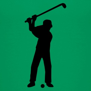 golfer_1c Shirts - Teenage Premium T-Shirt
