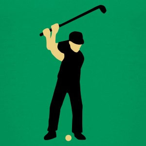 golfer_2c T-shirts - Teenager premium T-shirt