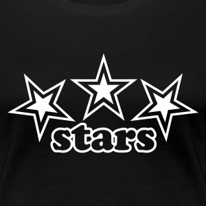 Girly Star - Frauen Premium T-Shirt