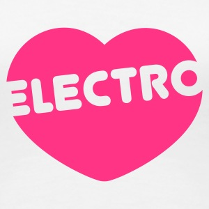 Electro Love - Women's Premium T-Shirt