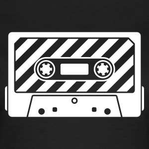 Audio Tape v1.0 - Dame-T-shirt