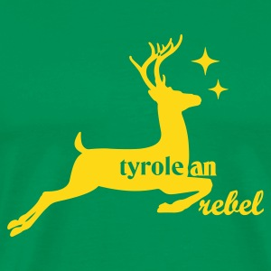 Bottlegreen tyroleanrebel T-Shirts - Männer Premium T-Shirt