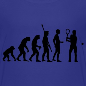 Türkis evolution_tennis_c_1c Kinder T-Shirts - Teenager Premium T-Shirt