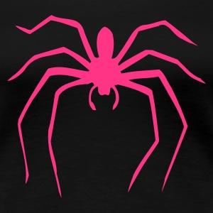 Big pink spider - Women's Premium T-Shirt