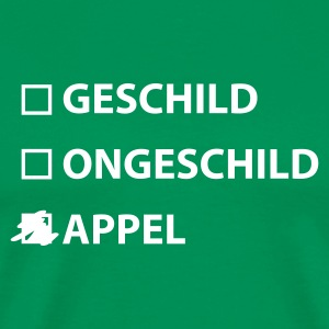 Bottlegreen Appel T-shirts - Mannen Premium T-shirt