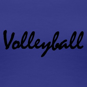 Türkis Volleyball T-Shirts - Frauen Premium T-Shirt