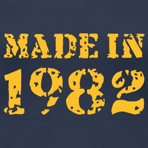 Jeansblau Made in 1982 T-Shirts - Frauen Premium T-Shirt
