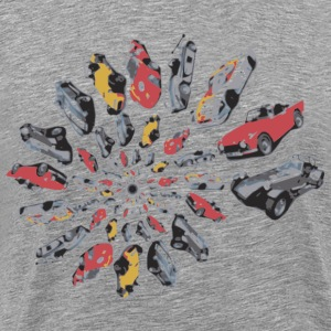 Car Swirl - Men's Premium T-Shirt