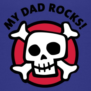 my_dad_rocks_3c Camisetas - Camiseta premium adolescente