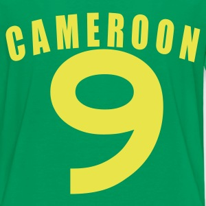 Kelly green CAMEROON Cameroun Kamerun fútbol calcio football Fußball Länder countries WM Sports - eushirt.com Kinder T-Shirts - Teenager Premium T-Shirt
