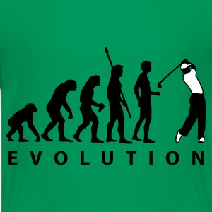 Kelly green evolution_golf_a_2c Kids' Shirts - Teenage Premium T-Shirt