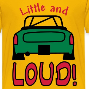 Yellow Little and Loud Midget Kids' Shirts - Teenage Premium T-Shirt