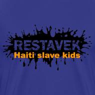 Motiv ~ Mann T-Shirt Restavek Splash 03orange © by kally ART®
