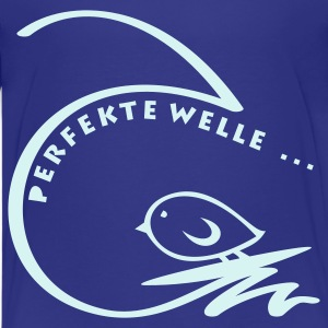 TWEETLERCOOLS - PERFEKTE WELLE - Teenager Premium T-Shirt