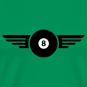 Kelly green billard_8_1c Men's T-Shirts - Men's Premium T-Shirt