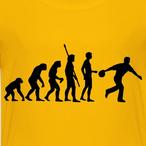 evolution_bowler_1c Shirts - Teenage Premium T-Shirt