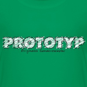 Kelly green Prototyp - Originales Sonderexemplar Kinder T-Shirts - Teenager Premium T-Shirt