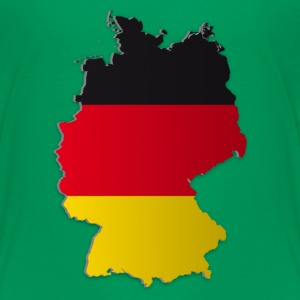 Map of Germany 2 - Teenager Premium T-Shirt