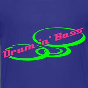 Turquoise Drum 'n' Bass Design  T-shirts Enfants - T-shirt Premium Ado