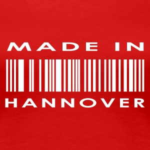 Stereo rot Hannover T-Shirts - Frauen Premium T-Shirt