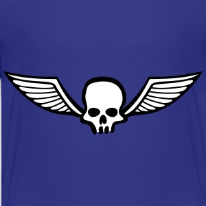 wingskull_comic_2c Shirts - Teenager Premium T-shirt