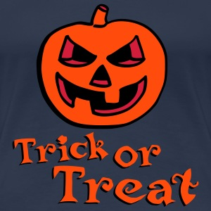 halloween_pumpkin_3c_trick_or_treat Tee shirts - T-shirt Premium Femme