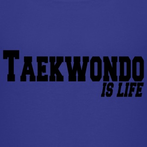 taekwondo is life Kinder T-Shirts - Teenager Premium T-Shirt