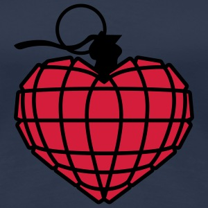 Herzgranate | Heart Grenade T-Shirts - Frauen Premium T-Shirt