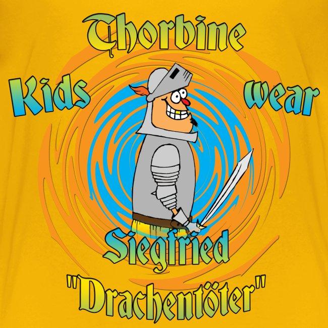 """Kinder T-Shirt mit dem Helden """"Siegfried"""""""