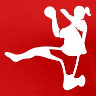 Motiv ~ Handballerin | Frauen T-Shirt