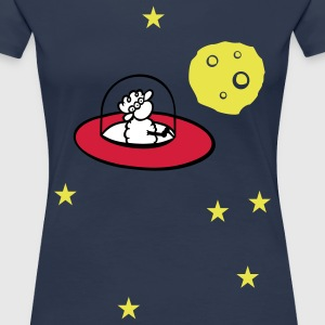 Alienschaf T-Shirts - Frauen Premium T-Shirt