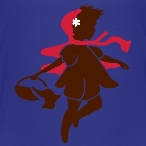 Little Red Riding Hood on the way to the grandmother Kids' Shirts - Teenage Premium T-Shirt