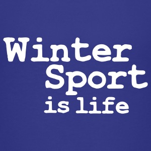 winter sport is life T-shirts Enfants - T-shirt Premium Ado